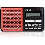 SPARC HD Radio SHD-TR05R Portable Table Top Radio with Built-in FM & HD Radio Tuners