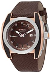 Breil Milano Men's BW0451 Mediterraneo Analog Brown Dial Watch