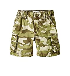 Athletica Baby Toddler Boys Camo Print Cargo Shorts - Green (Size: 2T)