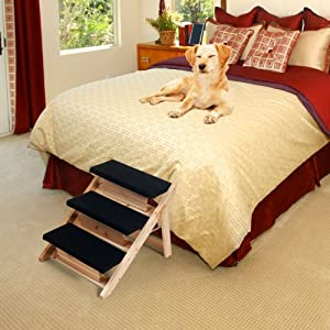 PAW 2-in-1 Foldable Pet Ramp/Stairs for Dogs and Cats