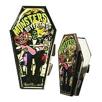 Kreepsville 666 Monster Boyfriends Coffin Compact Mirror