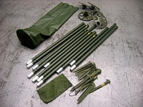 Military Camo Netting Camouflage Tent Support System 1080014630046
