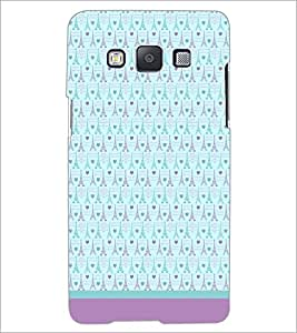 Printdhaba Tower Pattern D-1804 Back Case Cover For Samsung Galaxy E5