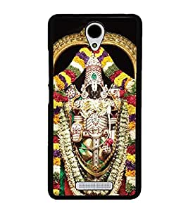 Lord Balaji Venkateshwara 2D Hard Polycarbonate Designer Back Case Cover for Xiaomi Redmi Note 2 :: Redmi Note 2 Prime