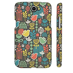 Samsung Galaxy Note 2 Poultry It Up! designer mobile hard shell case by Enthopia