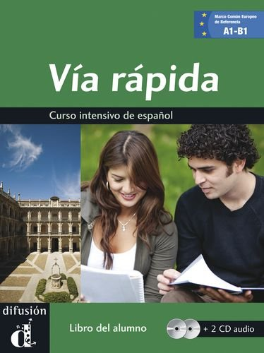 Via Rapida: Libro + CD (2) - A1/A2/B1 (Spanish Edition)