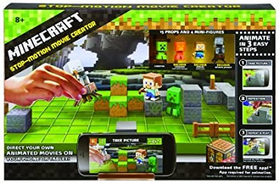 Minecraft Stop-Motion Animation Studio by Mattel