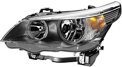 HELLA 008673111 BMW 5 Series E60/E61 Driver Side Headlight Assembly (2004 Bmw 525i Headlights Assembly compare prices)