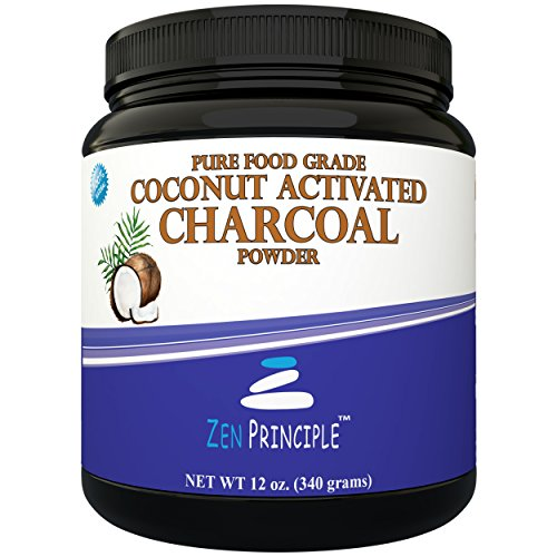 LARGE 12 Oz. Coconut Activated Charcoal Powder. Whitens Teeth, Rejuvenates Skin and Hair, Detox and helps Digestion. Treats Accidental Poisoning, Bug Bites and Wounds. USA-Owned Producers, FREE scoop! (Natural Coconut Charcoal compare prices)