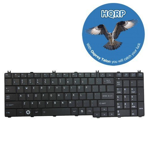 Hqrp Keyboard For Toshiba Satellite L755-S5362 / L755-S5364 / L755-S5365 / L755-S5366 / L755-S5367 / L755-S5368 / L755-S9510Bn Notebook Plus Hqrp Coaster