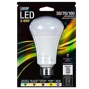 Feit A30/100/LED 30/60/100W Equivalent A19 LED Light, Soft White