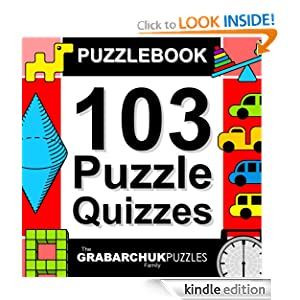 FREE KINDLE BOOK: Puzzlebook: 103 Puzzle Quizzes