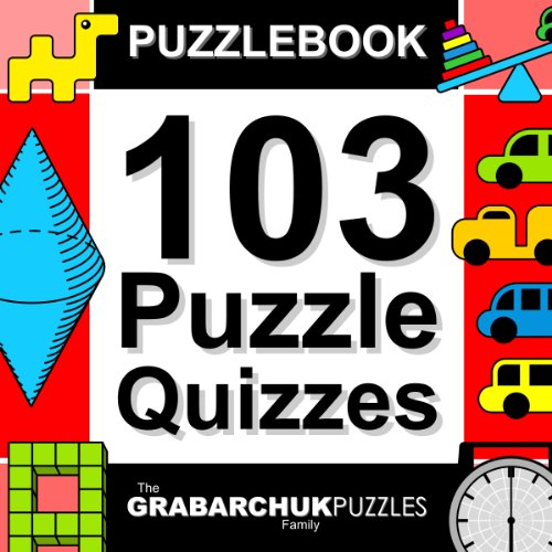 Puzzlebook: 103 Puzzle Quizzes (color and interactive!)