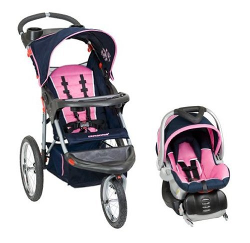 Baby Trend Expedition Swivel Jogging Stroller Travel