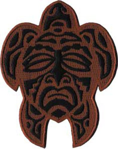 Application Maori Turtle Mask Patch - 1