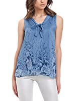 Laura Moretti Top (Azul)
