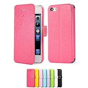 Mulbess apple iphone 5c dearstyles tui housse en cuir for Housse iphone 5c