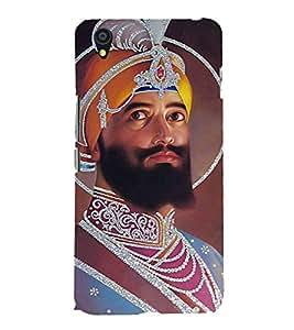 Guru Gobind Singh Ji 3D Hard Polycarbonate Designer Back Case Cover for OnePlus X :: One Plus X :: One+X
