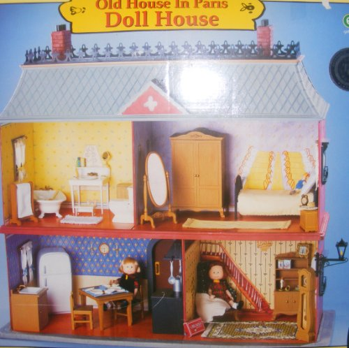 Madeline 8 Inch Doll House   Retired Old House In Paris Review