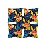 Rajrang Multi Color Cotton Digital Printed Cushion Cover Set Of 5 Pcs #Ccs05890
