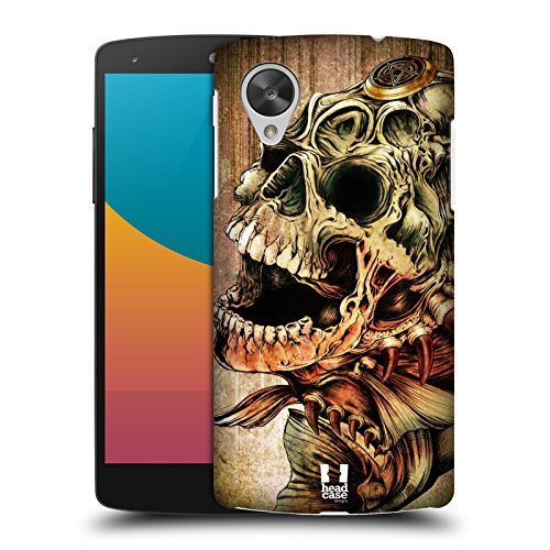 Head Case Designs Piranha Hydro Skulls Protective Snap-on Hard Back Case Cover for LG Google Nexus 5 D820 D821