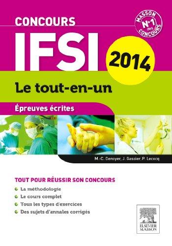 Concours IFSI Épreuves écrites Le tout-en-un