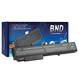 BND® Laptop Battery [with Samsung Cells] for HP EliteBook 8530p 8540p 8730w 8530w 8540w / HP ProBook 6545b- Fit P/N KU533AA 493976-001 HSTNN-LB60 - 24 Months Warranty [8-Cell 5200mAh/76.96Wh]