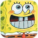 SpongeBob Dinner Pocket Plates (8 count)
