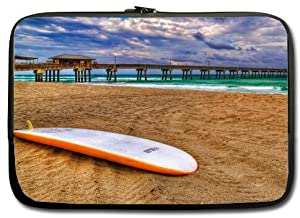 Fashionable Style Beach surfboard Macbook, Macbook Air/Pro 13 Inch All 13