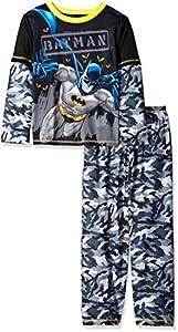 DC Comics Boys' Batman 2pc Camo Sleepwear Set at Gotham City Store