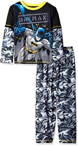 DC Comics Boys' Batman 2pc Camo Sleepwear Set at Gotham City Store