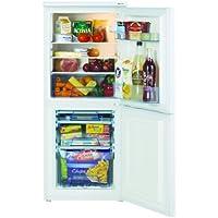 Lec T5039W 50cm combi fridge freezer, internal light, reversible door, white