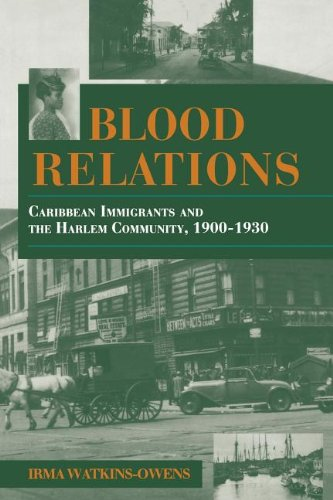 Blood Relations: Caribbean Immigrants and the Harlem...