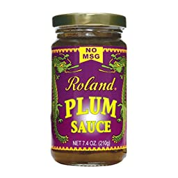 Plum Sauce by Roland (7.4 ounce)