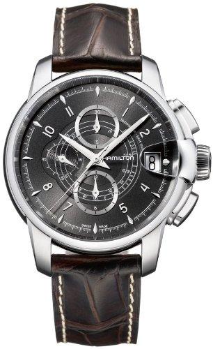 Hamilton H40616535 - Reloj para hombres, correa de cuero