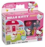 Mega Bloks Hello Kitty Buildable Candy Store Playset