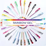 Top Quality Gel Pens, 30 Color Gel Pen Set - Professional Artist Quality Gel Ink Pens in Vibrant Colors - Classic, Glitter, Metallic, Neon, Pastel & Swirl Colors(Set of 30 Colors)