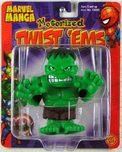 Marvel Manga Wobble Bobble Hulk Motorized - 1