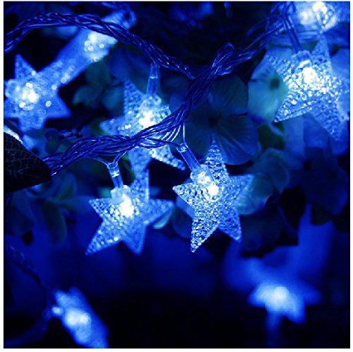 TINNZTES New Warm White 4m/13ft 40 LED Star Light Fairy String Light for Christmas XMAX Weddings ...