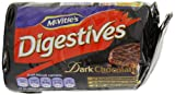 McVities Digestives Dark Chocolate 200 g (Pack of 8)