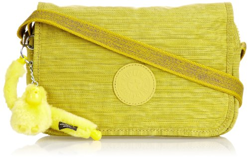 Kipling Womens Delphin N Shoulder Bag K12389B19 Dazzling Yellow