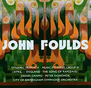 Foulds Dynamic Triptych Music-pictures Iii Orchestral Miniatures from CLASSICAL