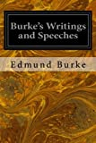 img - for Burke's Writings and Speeches: Volume the First Advertisement (Volume 1) book / textbook / text book
