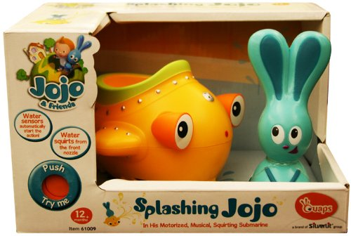Jojo & Friends Splashing Jojo & Submarine Bath Toy - 1
