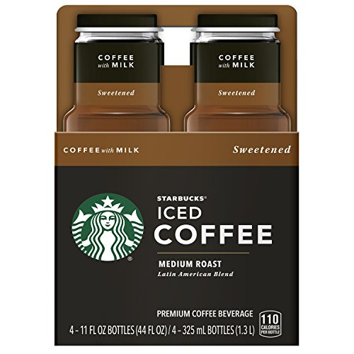Starbucks Iced Coffee with Milk, 4 ct