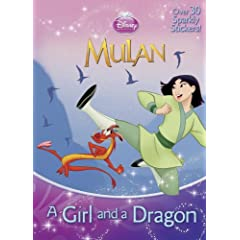 A Girl and a Dragon (Disney Princess) (Hologramatic Sticker Book)