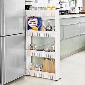 Sobuy frg42 w tag re placard alc ve armoires de cuisine - Etagere pour placard cuisine ...