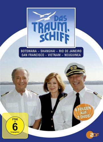 Das Traumschiff 6 (Botswana / Shanghai / Rio de Janeiro / San Francisco / Vietnam / Neuguinea) [3 DVDs]