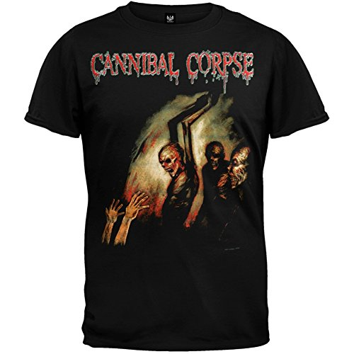 Old Glory - Cannibal Corpse - Uomo Gore Obsessed T-shirt X-Large Nero