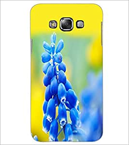 PrintDhaba Flowers D-2113 Back Case Cover for SAMSUNG GALAXY A7 (Multi-Coloured)
